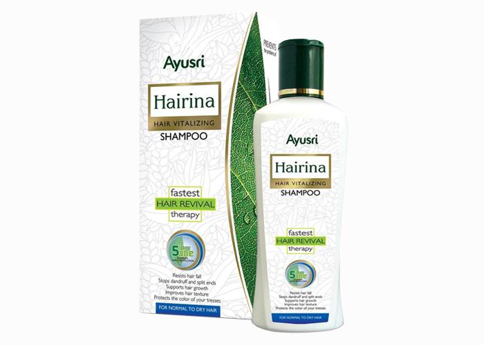 Аюрведический-Шампунь-лечебный-Хайрина-для-нормальных-и-сухих-волос-Аюшри-220мл
