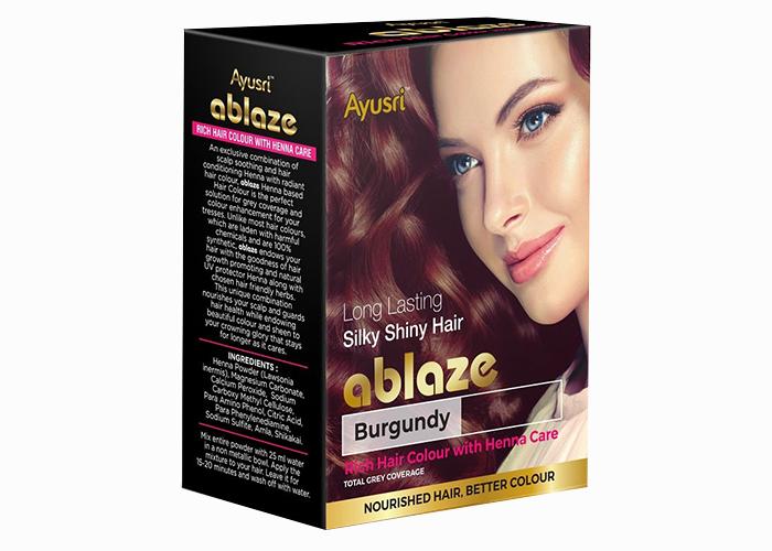 Бургунди-хна-для-волос-Аюшри-6-пакетиков-по-10г