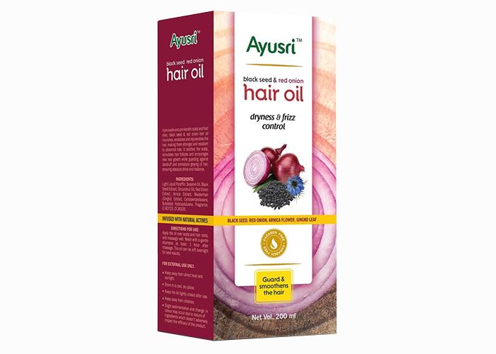 Масло-аюрведическое-для-волос-комплексный уход-с-Черным-Тмином-и-красным-луком- Аюшри-200мл