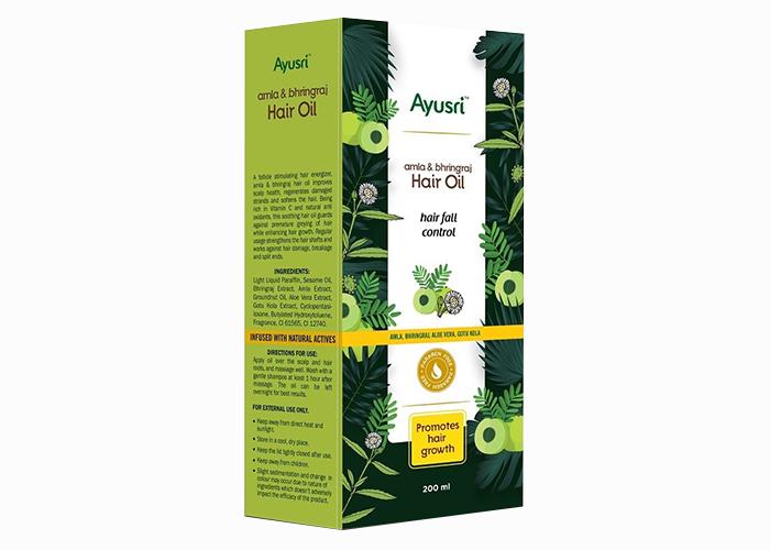 Масло-аюрведическое-для-волос-против выпадения-Амла-Бринградж-Аюшри-200мл
