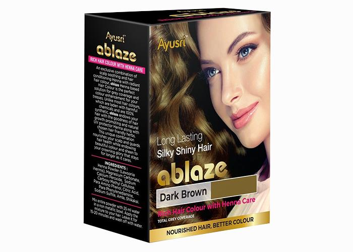 Темно-коричневая-хна-для-волос-Аюшри-6-пакетиков-по-10-г